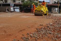 Reabilitação de Passeios em Maputo - Moçambique